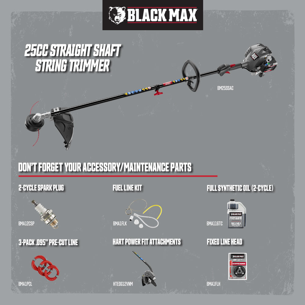"Photo: 2 Cycle 18"" Straight Shaft Attachment Capable String Trimmer"