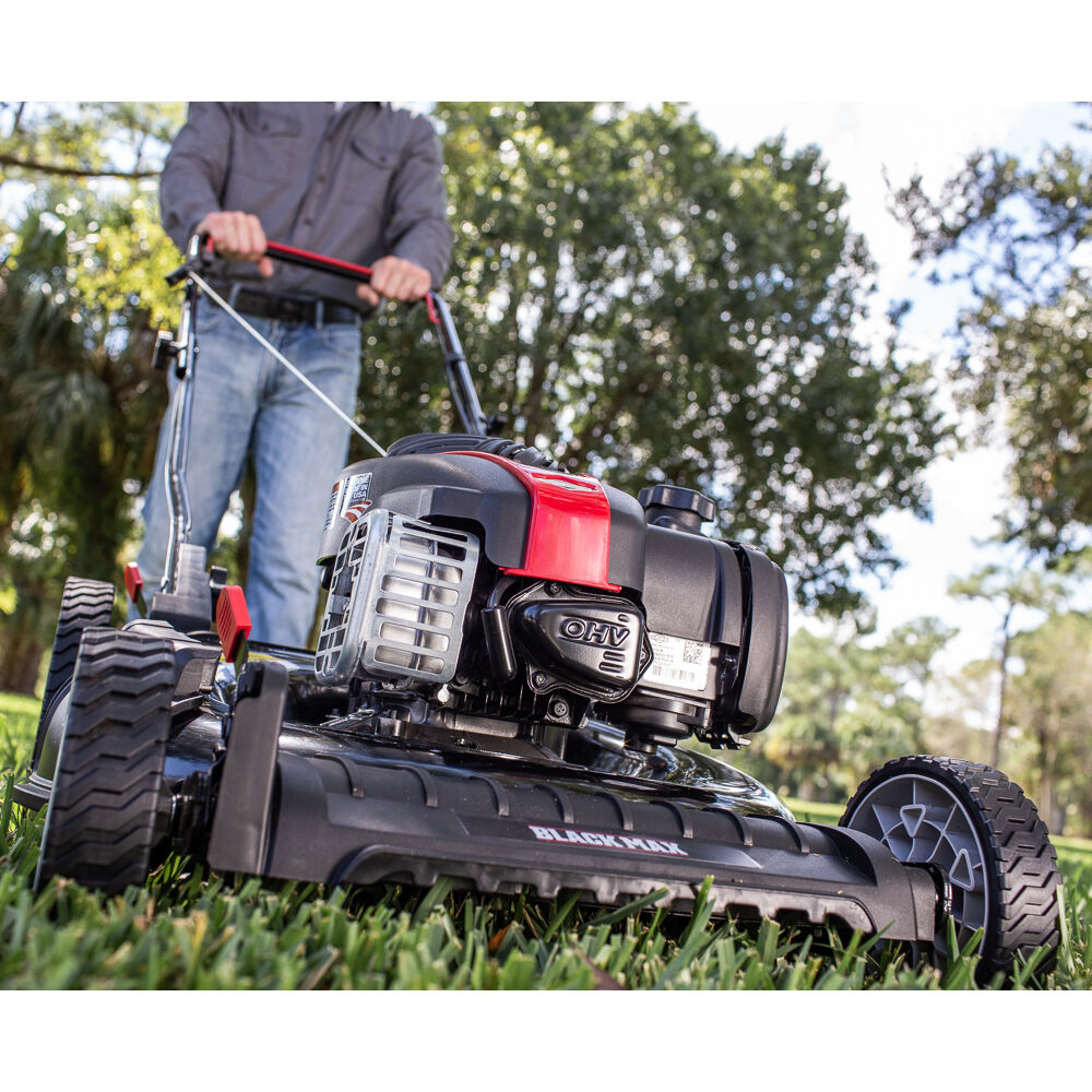 "Photo: 21"" 2 In 1 Gas Push Mower"