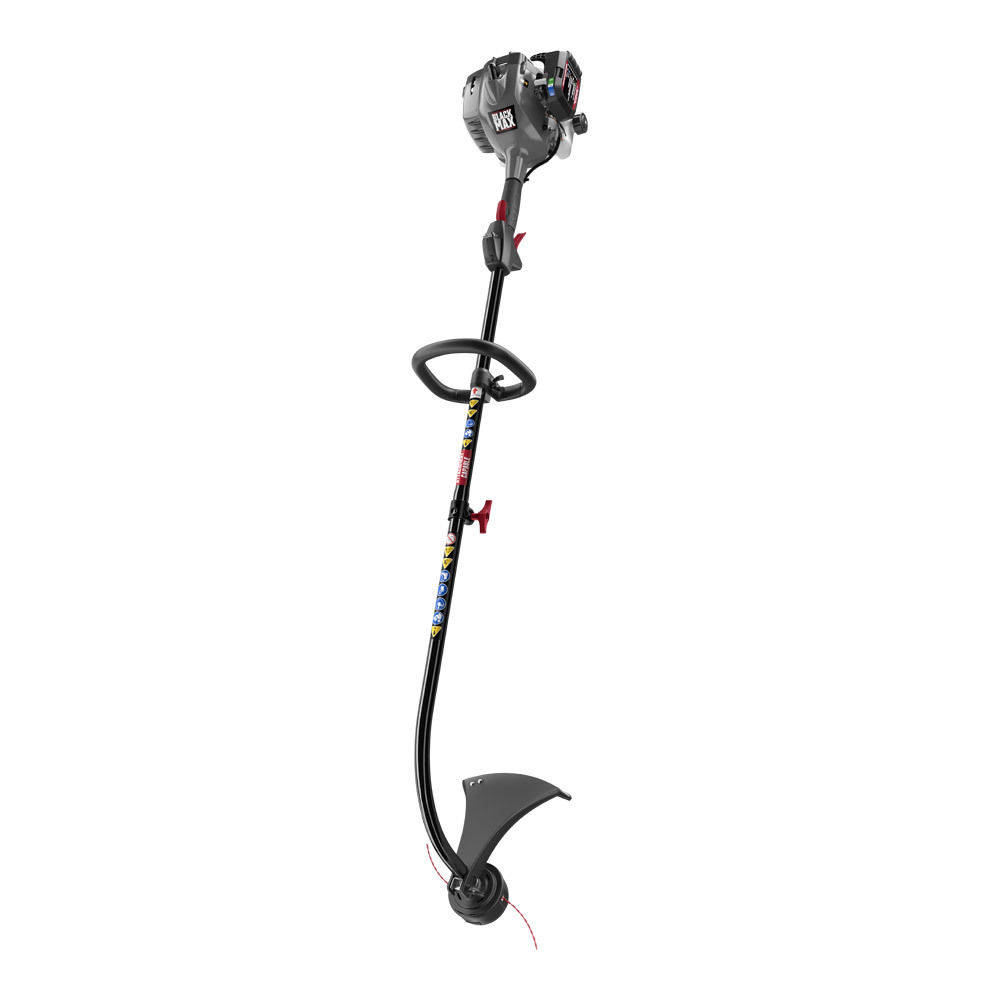 "Photo: 2 Cycle 17"" Curved Shaft Attachment Capable String Trimmer"