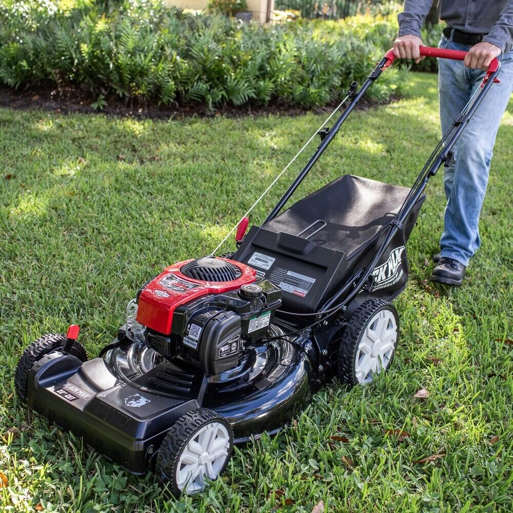 "Photo: 22"" 2 In 1 Self Propelled Gas Mower"