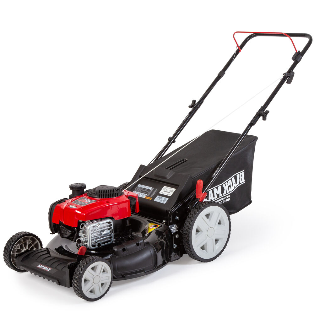 "Photo: 21"" Mow N Stow Gas Push Mower"