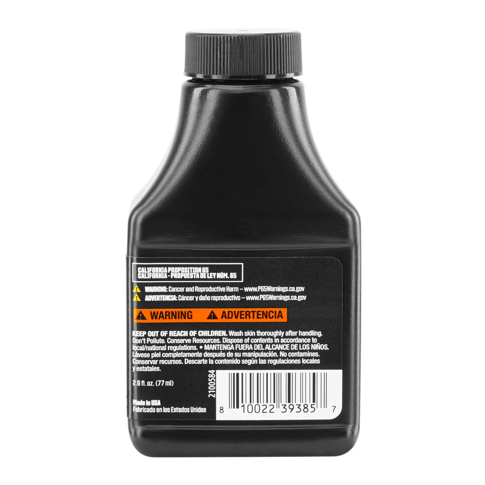 Photo: 2.6 Oz. Synthetic Blend 2 Cycle Oil